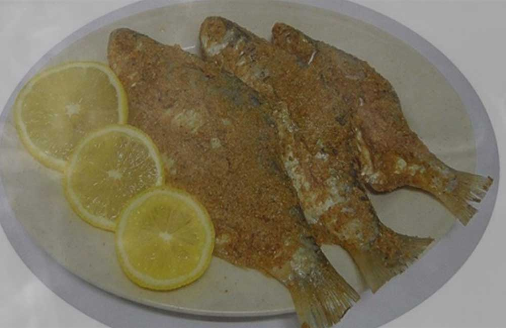 PRESERVED FRESH WATER FISH